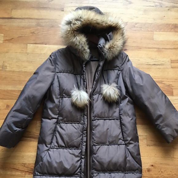 Via Spiga Jackets & Blazers - Via spiga winter coat with fur